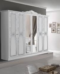 schlafzimmer set lucia in weiß barock design bett 160x200cm