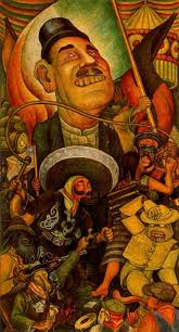 Famous Mexican Mural Artists by Carnival Of Mexican Life Dictatorship By Diego Rivera Art