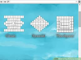 play mahjong solitaire tiles 3 ways to play mahjong solitaire wikihow