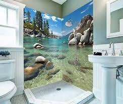 details zu 3d fluss stein 8 tapete badezimmer drucken abziehbild mauer deco aj wallpaper de