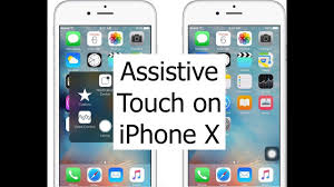 Assistive Touch iPhone X