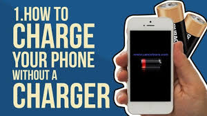 How to charge your Phone without charger