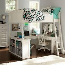 Lovely Loft Beds With Desk For Girls 17 Best Ideas About Teen Loft