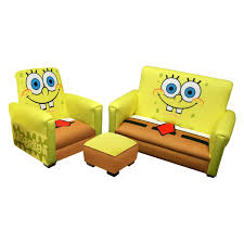 Nickelodeon Sponge Bob Deluxe Toddler Sofa With Chair And ...