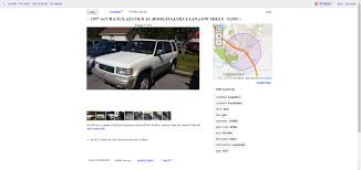 100 Craigslist Norfolk Va Cars Trucks For 2350 Would You Adopt This 1997 Acura SLX Brother From Another