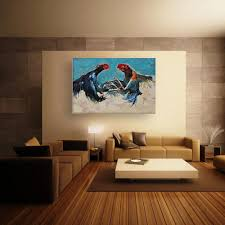 100 Beautiful Drawing Room Pics Canvas Painting Birds Wall Painting For Living Bedroom Office Hotels 91cm X 61cm