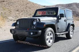 2018 Jeep 4 Door Truck New 2018 Jeep Wrangler Mule Spied Again ...