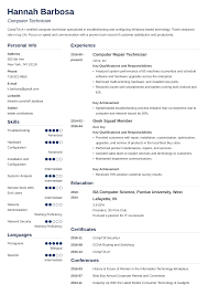 Computer Technician Resume Sample & Writing Guide [+20 Examples] Best Field Technician Resume Example Livecareer Entrylevel Research Sample Monstercom Network Local Area Computer Pdf New Great Hvac It Samples Velvet Jobs Electrician In Instrument For Service Engineer Of Images Improved Synonym Patient Care Examples Awful Hospital Pharmacy With Experience Objective Surgical 16 Technologist