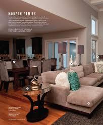 100 Contemporary Design Magazine A Modern Family Incorporating COMO Living