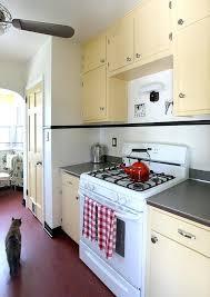 1940s Kitchen Cabinets Yellow Wood