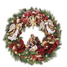 Thomas Kinkade Christmas Tree by Kinkade Christmas Nativity Gifts