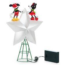 Christmas Tree Toppers Disney by Your Wdw Store Disney Christmas Tree Topper Mickey And Minnie