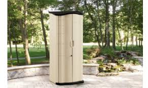 Rubbermaid Vertical Storage Shed by Exterior Storage Containers Interior Design