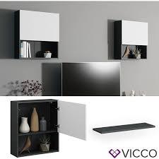 vicco einlegeboden compo m14 anthrazit klein schrank bücherregal akten büroregal