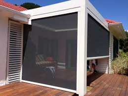 PVC Screens And Mesh Shade Blinds - Louvretec, Cafe Style Blinds ... Houses Comforts Pillows Candles Sofa Grass Light Pool Windows Charming Your Backyard For Shade Sails To Unique Sun Shades Patio Ideas Door Outdoor Attractive Privacy Room Design Amazing Black Horizontal Blind Wooden Glass Image With Fascating Diy Awning Wonderful Yard Canopy Living Room Stunning Cozy Living Sliding Backyards Outstanding Blinds Uk Ways To Bring Or Bamboo Blinds Dollar Curtains External Alinium Shutters Porch