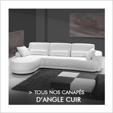 canapé d angle en cuir convertible canapés sofamobili