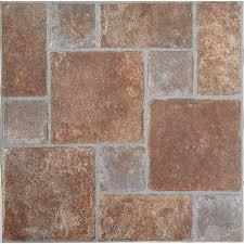 nexus brick pavers 12x12 self adhesive vinyl floor tile 20 tiles