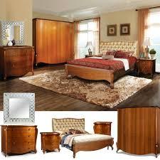 schlafzimmer komplett set luisa exclusive schlafzimmermöbel modernes barock cognac braun