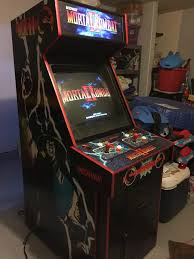 4 Player Arcade Cabinet Blueprints by Mortal Kombat 2 Classic Arcade Cabinets