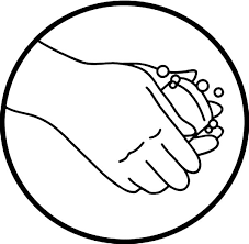 Hand Washing Picture Logo Coloring Pages