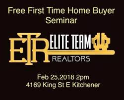 First Time Home Buyers Seminar Live On Facebook Option