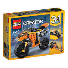 LEGO Creator Sunset Street Bike - 31059 | Kmart Lego Creator Mini Fire Truck 6911 Brick Radar Lego Highway Speedster 31006 31075 Outback Adventures De Toyz Shop Vehicles Turbo Quad 3in1 Buy Online In South Rocket Rally Car 31074 Cwjoost Alrnate Model Of Set High Flickr 6753 Transport Itructions Diy Book 1 Youtube Pictures Expert Fairground Mixer Walmartcom Cstruction Hauler 31005 At Low Prices Creator 31022 Toys Planet 2013 Brickset Guide And Database