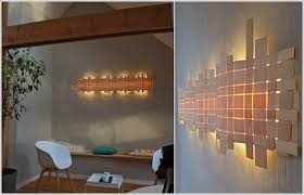 A Handcrafted Woven Wood Lamp Now Thats Something Out Of The Box