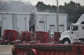 100 Halliburton Trucks Truck Catches Fire Inside Facility Kilgore News Herald