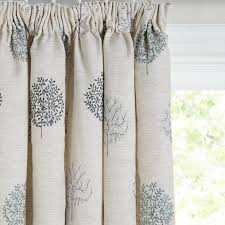 Fabric Curtains John Lewis by Buy John Lewis Mini Olive Trees Lined Pencil Pleat Curtains Duck