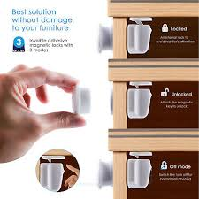 Best Magnetic Locks For Cabinets by Baby Safety Magnetic Cabinet Locks Kamisco