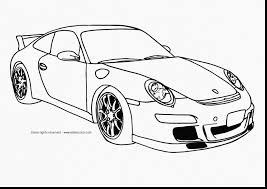 Good Cars Printable Coloring Pages With Race Car And Pdf