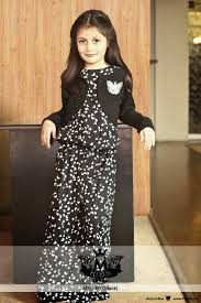 Embroidered Fancy Maria B Kids Party Wear Collection 2015