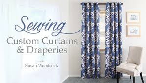 Material For Curtains Calculator by Learn How To Sew Lined Curtains Step By Step On Craftsy