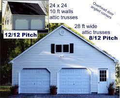 10 ft wide garage door garage roof pitch photos