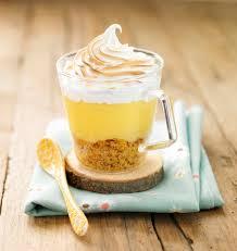 verrine façon tarte au citron meringuée les meilleures recettes