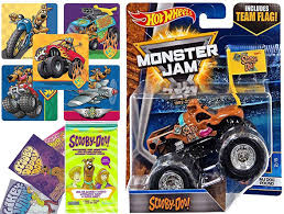 Scooby-Doo Monster Jam 2017 Hot Wheels Scooby Doo With Team Flag + ... Monster Trucks Wall Stickers Online Shop Truck Decal Vinyl Racing Car Art Blaze The Machines A Need For Speed Sticker Activity Book Cars Motorcycles From Smilemakers Crew Wild Run Raptor Monster Spec And New Stickers Youtube Build Rc 110 Energy Ken Block Drift Self Mutt Dalmatian Pack Jam Rockstar Sheets Get Me Fixed And Crusher Super Tech Cartoon By Mechanick Redbubble Ford Decals Australia