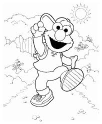 Elmo Coloring Pages Inspiration Graphic Printable Free E