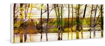 Mi Patio Ponchatoula Hours by Parveztaj U0027lake Trees U0027 By Parvez Taj Painting Print On White Wood