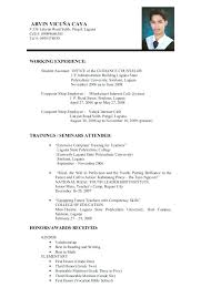 Resume For Teachers Education Consulting Cover Letter No Experience Rh Districte15 Info Sample Without In India