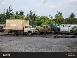 100 Rusty Trucks Old Image Photo Free Trial Bigstock