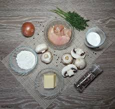 classical cuisine classical cuisine julienne with chicken and mushrooms