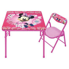 Disney Jr Bathroom Sets by Disney Minnie Junior Table U0026 Chair Set Target