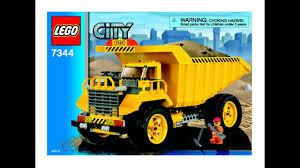 100 Lego City Dump Truck Instructions For 7344 YouTube