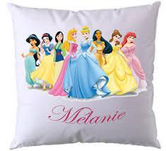 coussin avec photo personnalise coussin princesse disney personnalisé avec prénom ebay