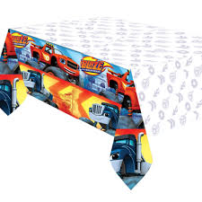 Blaze Monster Truck Plastic Tablecover Boys Party Supplies Blaze ... Birthdayexpress Monster Jam Party Supplies Pinata Kit 30off Truck Favors High For 8 Diy Decorations Luxury Braesdcom Amazoncom Printed Cake Decoration Candle Mudslinger Childrens Wall Poster Blaze And The Machines Monsters Amazmonster The Birthday Australia Its Fun 4 Me 5th Happy Lunch Napkins Perfect X Trucks Plates Boys Truckshaped Centerpieces Orientaltradingcom Justins