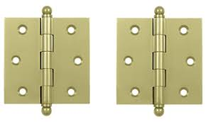 2 1 2 inch x 2 1 2 inch solid brass cabinet hinges unlacquered