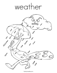 Fresh Weather Coloring Pages 38 With Additional Free Book