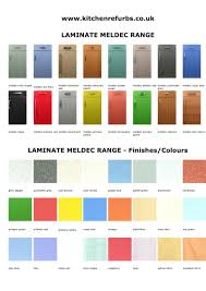 Meldec Laminate Range Style Colours By Kitchen Refurbs From Doors Direct
