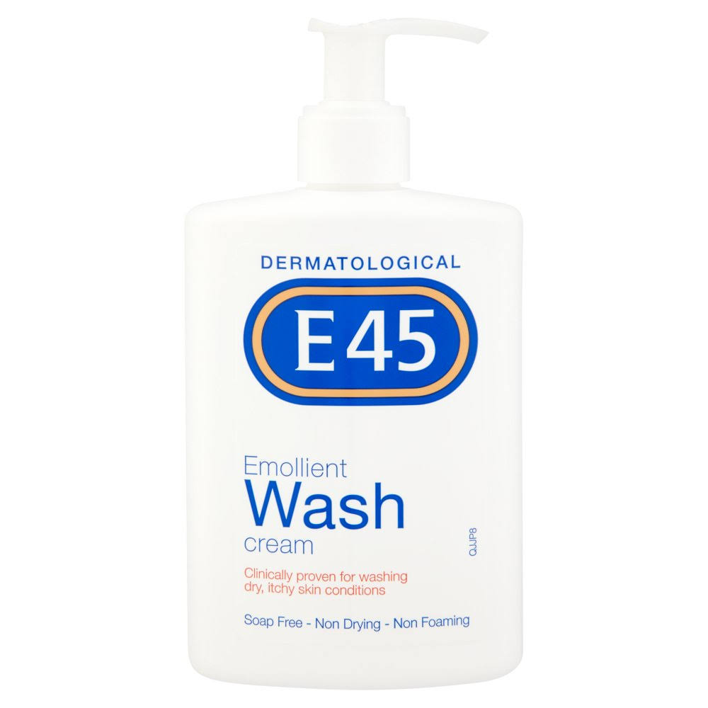 E45 Dermatological Emollient Wash Cream - 250ml
