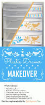 Sterilite 4 Drawer Cabinet Kmart by Best 25 Plastic Drawer Makeover Ideas On Pinterest Decorating